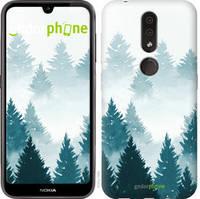 """Чехол на Nokia 4.2 Акварельные Елки """"4720u-1680-535"""""""