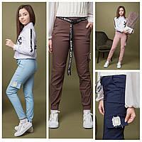 Подростковые брюки карго, джоггеры коттон, для девочек  размеры 134- 164