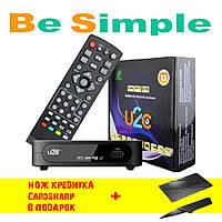 Приемник TV ресивер U2C T2 / ТВ Тюнер Т2 + Подарок
