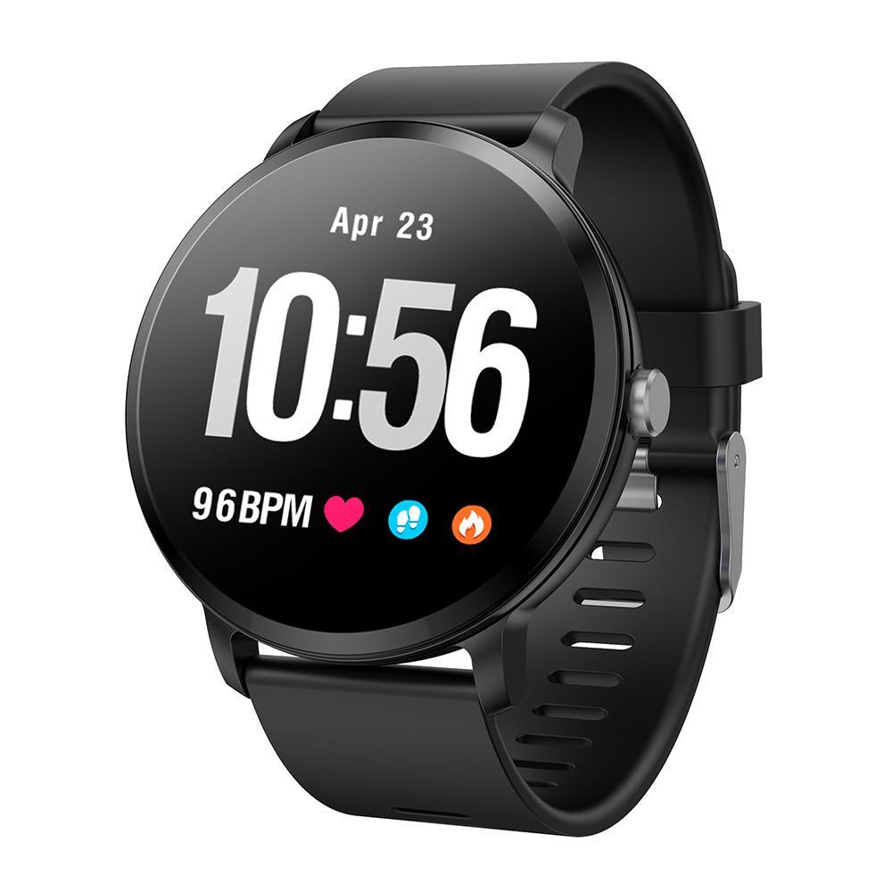 Смарт часы с IPS дисплеемшагометром, пульсометром, смсSmart Watch v11 (фитнесс трекер, фитнес браслет)