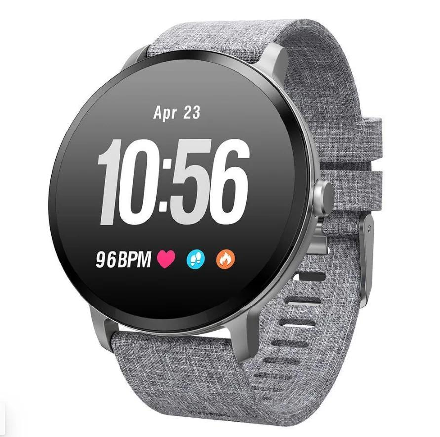 Смарт часы с шагометром, пульсометром, смс  Smart Watch v11 (фитнесс трекер, фитнес браслет)