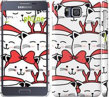 "Чохол на Samsung Galaxy Alpha G850F Милий кіт ""4717c-65-535"""