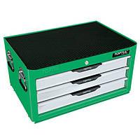 Ящик з набором інструментів для автосервісу TOPTUL (Pro-Line) 3 секції 104 од. GCAZ0013