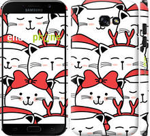 "Чехол на Samsung Galaxy A7 (2017) Милый кот ""4717c-445-535"""