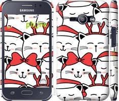 """Чохол на Samsung Galaxy J1 Ace J110H Милий кіт """"4717c-215-535"""""""