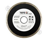 Диск алмазный отрезной YATO 125x2,2x22,2 керамика YT-6013