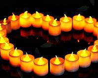 Свеча электронная с пламенем. LED свеча.