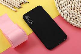Чехол Soft Touch для Honor 9X Pro China силикон бампер черный