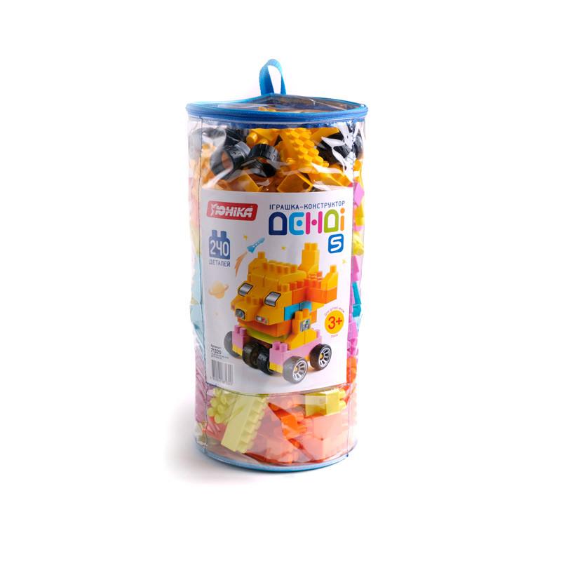 "Конструктор дитячий ""Денді 5"" (240 дет.) кульок"