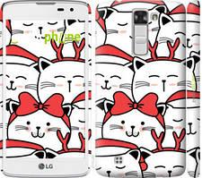 """Чохол на LG K8 K350E Милий кіт """"4717c-297-535"""""""