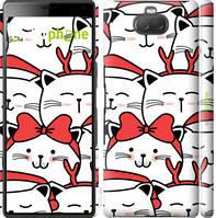 "Чехол на Sony Xperia 10 I4113 Милый кот ""4717c-1688-535"""