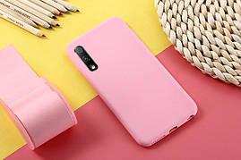 Чехол Soft Touch для Honor 9X Pro China силикон бампер светло-розовый