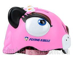 Шлем для катания на роликах Flying Eagle Monster Pink