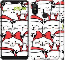 "Чехол на Xiaomi Redmi 6 Pro Милый кот ""4717c-1595-535"""