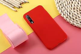 Чехол Soft Touch для Honor 9X Pro China силикон бампер красный