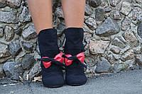 Ботинки тканевые 1