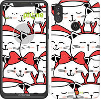 "Чохол на Motorola Moto E6 Plus Милий кіт ""4717u-1780-535"""