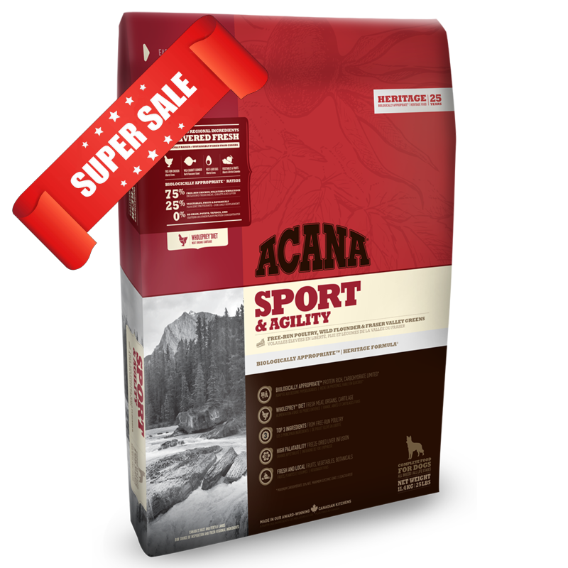 Сухой корм для собак Acana Sport & Agility 11,4 кг