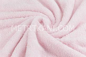Махра светло-розового цвета,премиум двухсторонняя  ММ-6