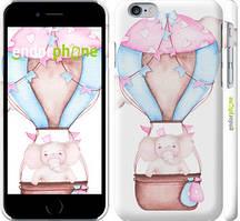 """Чохол на iPhone 6 Слоник на повітряній кулі """"4716c-45-535"""""""
