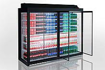 Холодильная пристенная витрина LOUISIANA ULF AV 095 MT D A