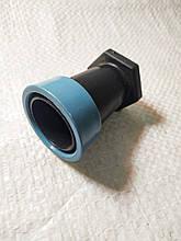 Заглушка для стрічки Туман 40 мм. З затискним кільцем