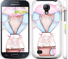 "Чехол на Samsung Galaxy S4 mini Duos GT i9192 Слоник на воздушном шаре ""4716c-63-535"""