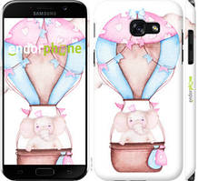 """Чохол на Samsung Galaxy A5 (2017) Слоник на повітряній кулі """"4716c-444-535"""""""