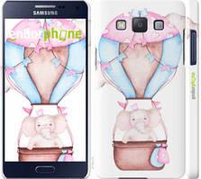 "Чехол на Samsung Galaxy A5 A500H Слоник на воздушном шаре ""4716c-73-535"""