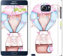 "Чехол на Samsung Galaxy Note 5 N920C Слоник на воздушном шаре ""4716c-127-535"""