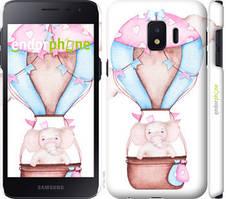 "Чехол на Samsung Galaxy J2 Core Слоник на воздушном шаре ""4716c-1565-535"""