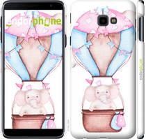 "Чехол на Samsung Galaxy J4 Plus 2018 Слоник на воздушном шаре ""4716c-1594-535"""