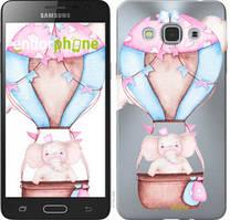 "Чехол на Samsung Galaxy J3 Pro Слоник на воздушном шаре ""4716u-840-535"""