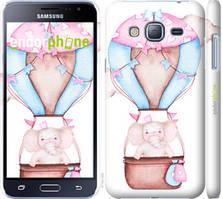 """Чохол на Samsung Galaxy J3 Duos (2016) J320H Слоник на повітряній кулі """"4716c-265-535"""""""