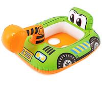 Детский надувной плотик Intex 59586-2 Кран Транспорт