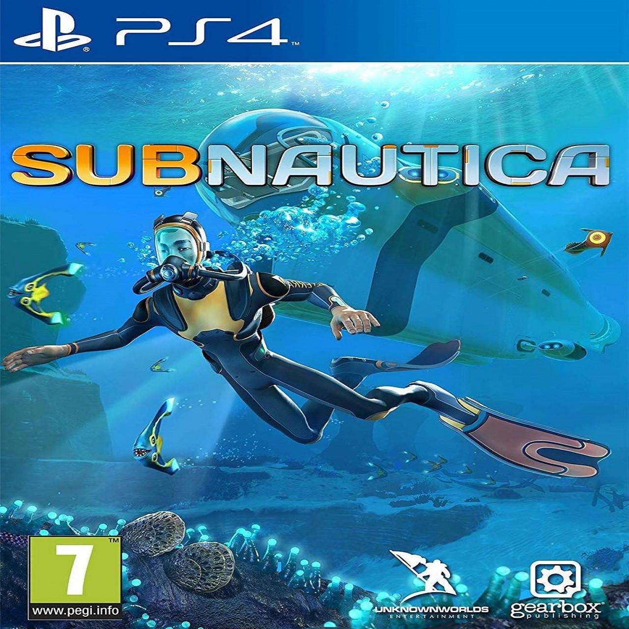 SUBNAUTICA SUB PS4