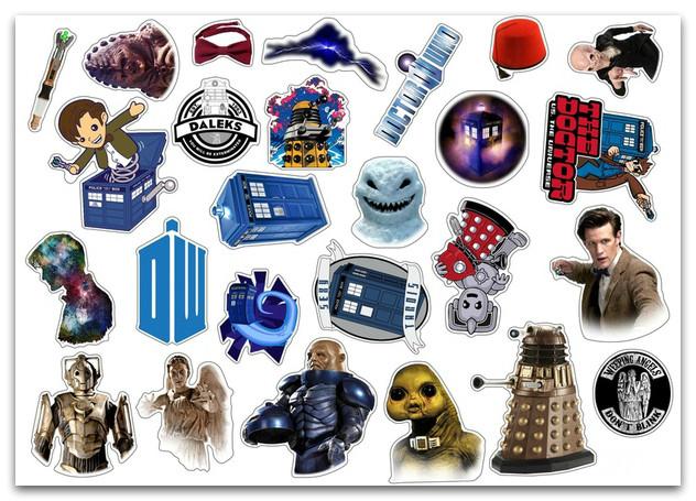 Стикерпак Доктор Кто #277