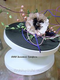 Подставка для торта с наклоном d 28 см h15 см