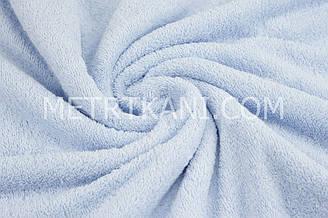 Махра голубого цвета,премиум двухсторонняя  ММ-7