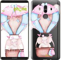 """Чохол на Huawei Mate 10 Pro Слоник на повітряній кулі """"4716u-1138-535"""""""