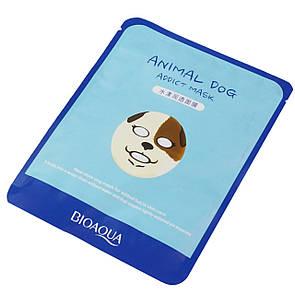 Косметическая маска с животными, собачка