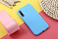 Чохол Soft Touch для Huawei P Smart Pro силікон бампер м'ятно-блакитний