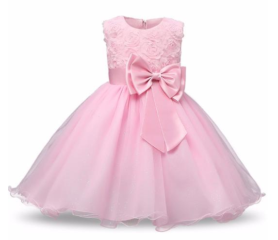 Нарядное бальное платье нежно розовое Elegant ball gown gently pink