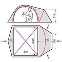 Палатка четырехместная с тамбуром Terra Incognita Zeta 4, фото 10