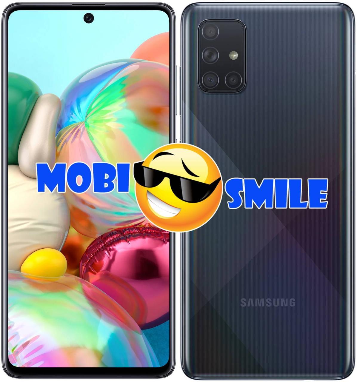 Смартфон Samsung Galaxy A71 2020 6/128Gb (SM-A715F) ОРИГИНАЛ Гарантия 12 месяцев