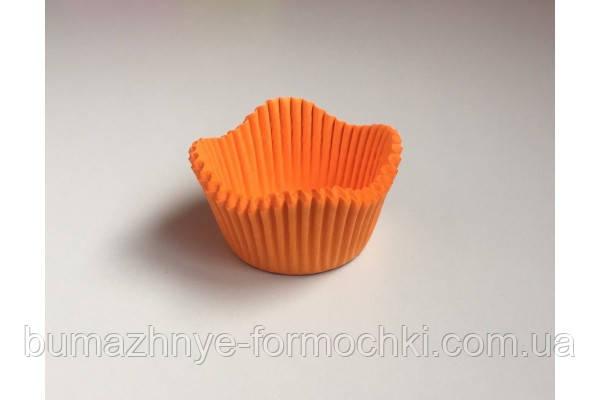 Бумажные формочки для кексов и маффинов Цветочек, 50х30 мм