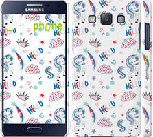"""Чехол на Samsung Galaxy A5 A500H Единорожки 2 """"4715c-73-535"""""""