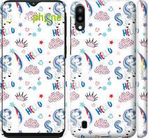 "Чехол на Samsung Galaxy M10 Единорожки 2 ""4715c-1661-535"""