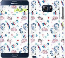 "Чехол на Samsung Galaxy Note 5 N920C Единорожки 2 ""4715c-127-535"""