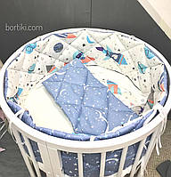 Комплект для ліжечка малюка, Комплект для кроватки малыша